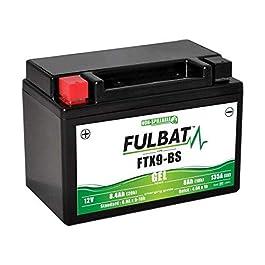 Batterie moto Fulbat – Etanche au Gel – FTX9-BS / YTX9-BS / BTX9 – 12V / 8Ah