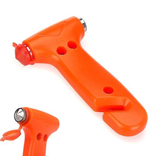 DP Design® - Martillo rompecristales de emergencia con enganche para cinturón de seguridad