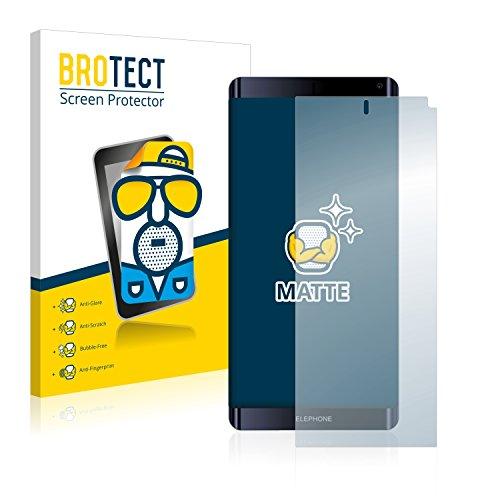 BROTECT Protector Pantalla Anti-Reflejos Compatible con Elephone X8 (2 Unidades) Pelicula Mate Anti-Huellas