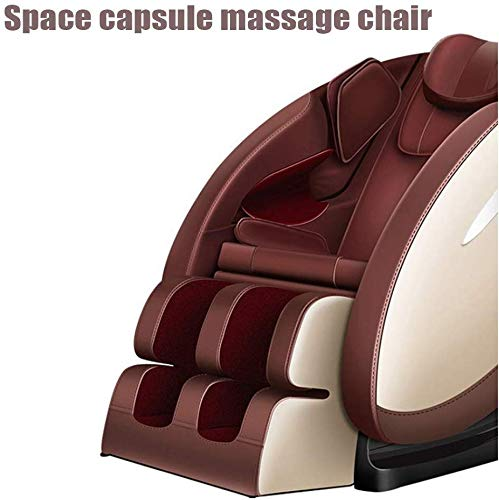 Relaxbx Professionele massage- en ontspanningsstoel, 3D-surround-sound – luchtmassageapparaten – gewichtloos– warmtemassage in de rug, massagestoel