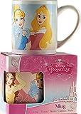 Giftworks Tasse en céramique pour Enfant Motif Princesse Disney Rose Aurora