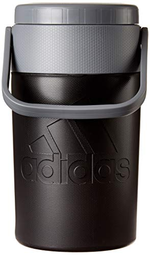 adidas Unisex's Team Issue - Jarra de agua de plástico con aislamiento, 2 litros, color negro/onix, talla única