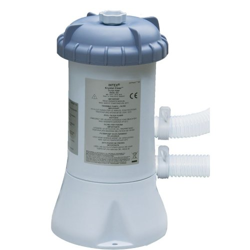 Intex Pool Filterpumpe Filter Pumpe 2,27 l/h