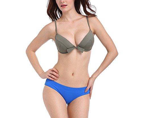 clasificación y comparación Shangurui Bikini de 2 piezas con sujetador push-up acolchado de moda para mujer (FZSW1002) para casa