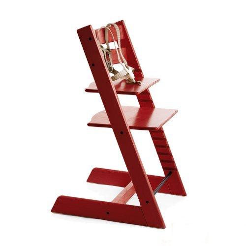 Stokke 100102 - Kinderstuhl / Hochstuhl Tripp Trapp, rot
