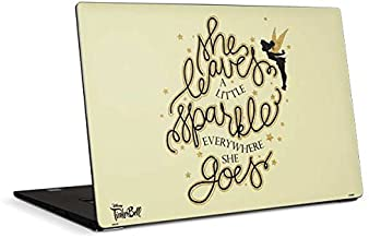 Skinit Decal Laptop Skin Compatible with Dell XPS 15in (2017) - Officially Licensed Disney Tinker Bell Leave A Little Spar...