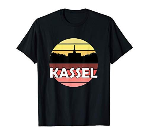 Kassel Geschenk Herkules Kassler Bergpark Nordhessen Hessen T-Shirt