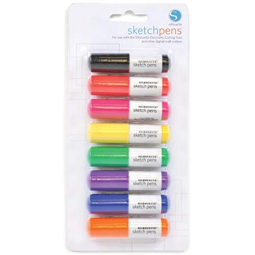 Silhouette Sketch Pens 8/Pkg