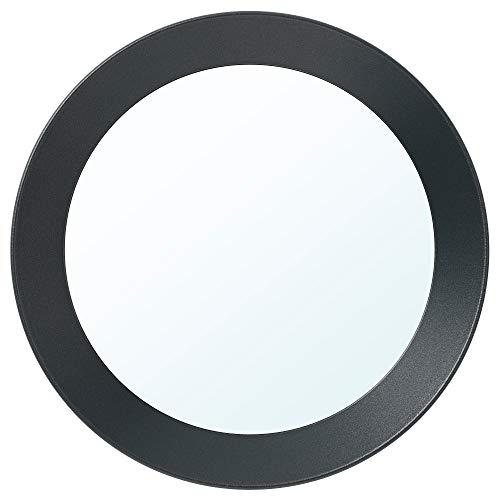 Espejo IKEA LANGESUND Ø25 cm gris oscuro