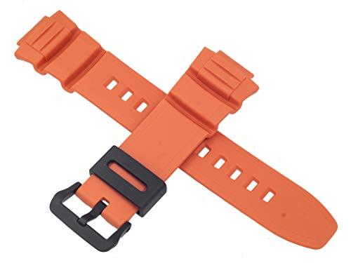 Correa de reloj Casio para MCW-100H-4AV MCW 100H 100 Naranja 10526077
