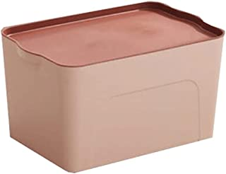 Lpiotyucwh Paniers et Boîtes De Rangement, Boîte de Conservation en Plastique, avec Couvercle pour Chambre à Coucher, Plac...