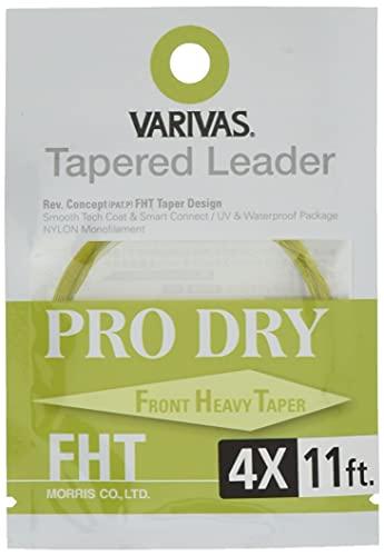 VARIVAS(バリバス) ハリス テーパードリーダー プロドライ FHT 11ft 4X TL-39