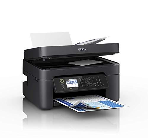 Epson WorkForce WF-2850DWF Print/Scan/Copy/Fax Wi-Fi Printer with ADF, Black