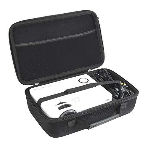 Hermitshell Hard Travel Case for QKK Mini Projector ...