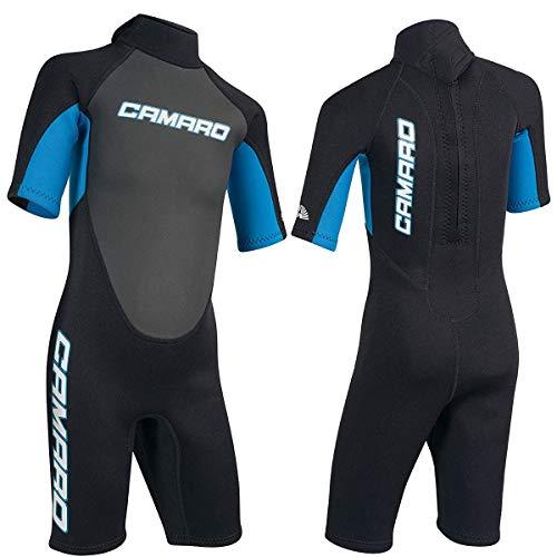 Camaro Flex Youth Kinder Shorty Kinder Neoprenanzug Neopren Schwimmanzug