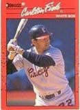 1990 Donruss Baseball Card #58 Carlton Fisk