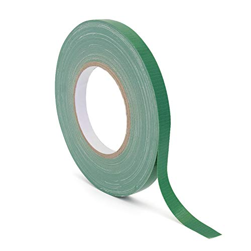 """Royal Imports Floral Tape Green, Flower Wrap Adhesive Waterproof Tape for Bouquets 0.5"""" (60 Yd/180 Ft) - 1 Roll"""