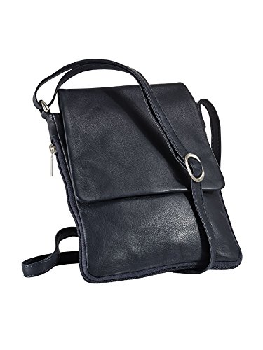 Avena Damen Leder-Handtasche Every Day Blau Gr. one size