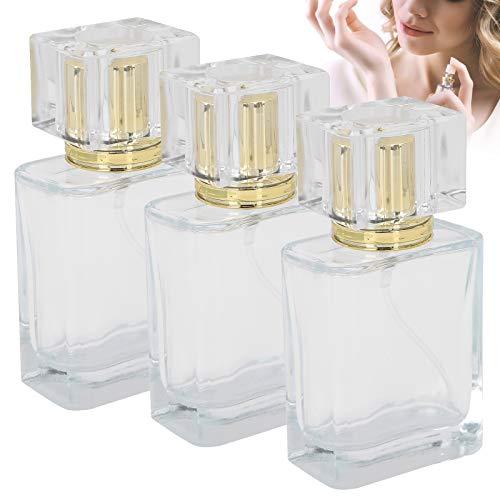 Botella de perfume recargable Botella de aceite esencial para perfume para monedero para loción para el cuidado de la piel para uso en viajes(gold)