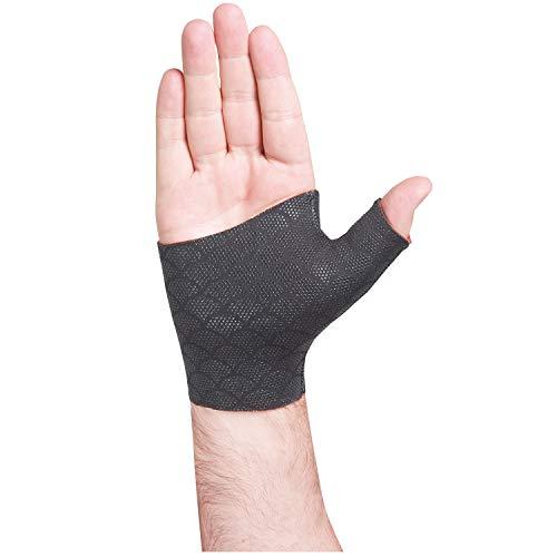 Orthozone Inc. Thermoskin Thumb/Wrist Brace - Fingerless Pain Relieving Glove - Large