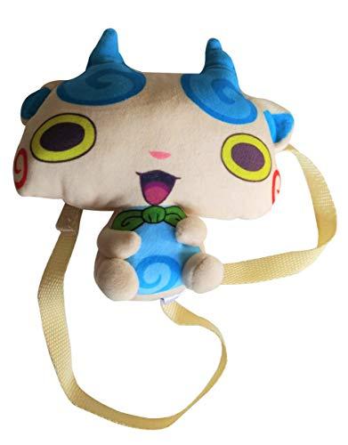 Yo-Kai Watch Tasche, Mini-Rucksack 17 cm für Kinder, Jungen und Mädchen (Weiß)