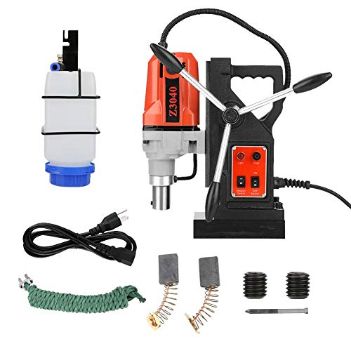 Affordable Magnetic drill press, 110V 550RPM 12000N High Power Multi-Function Magnetic Drill Metal D...