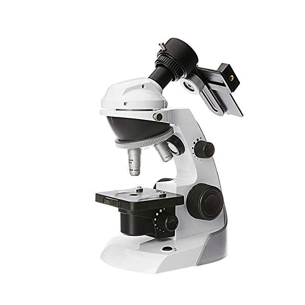 SWIFT Microscope SS30-8001, Kids Ultimate Microscope STEM Kit with 42 PCS Accessories, including Smartphone Adapter, 10 PCS Blank Slides etc, 60X-200X, Top Pick of Microscopes for Beginners