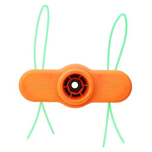 Cabezal de desbrozadora Desbrozadora Desbrozadora Nailon estable Tipo de dos hilos de 2 líneas con accesorio de desbrozadora de 2 líneas