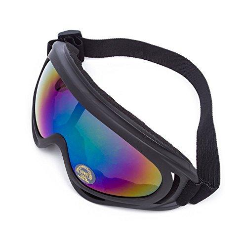 WILDKEN Gafas de Seguridad Anti-UV a Prueba de Viento Antipolvo Anti-Sable Anti-Niebla para Actividades al Aire Libre Ciclismo Moto Cross Mountain Bike Ski (Colorido)