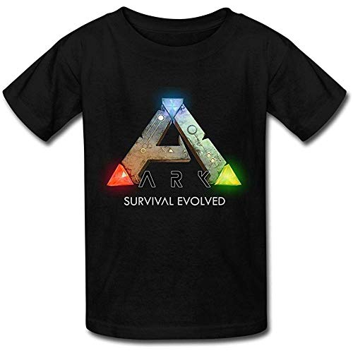 XiaopangTCVCCV Kid's Ark Logo Ark Survival Evolved T-Shirt Follow The Picture 2XL