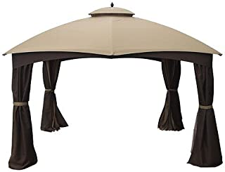 Garden Winds Replacement Canopy for Allen Roth 10x12 Gazebo - Standard 350 - Beige
