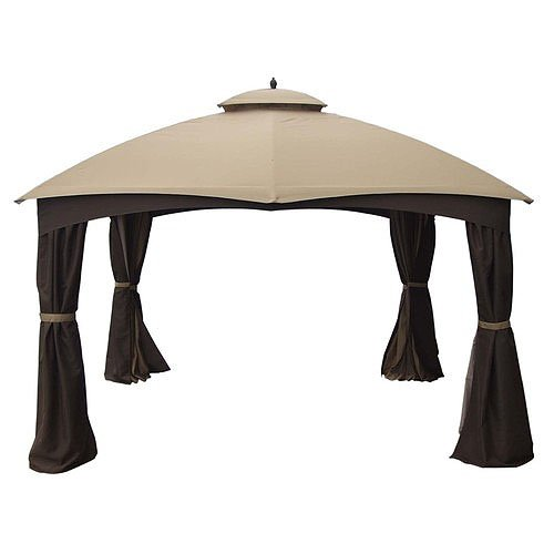 Garden Winds Dome 10 x 12 Gazebo Replacement Canopy Top Cover- RipLock 500