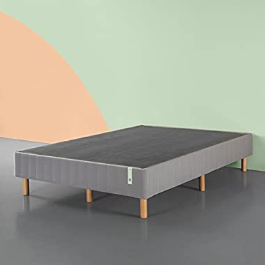 Zinus Quick Snap Standing Mattress Foundation/Platform Bed/No Box Spring needed/Grey, King