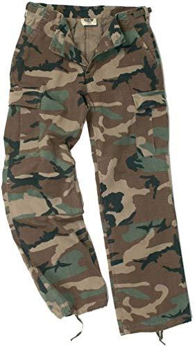 Mil-Tec US BDU Pants Women R S Prewash Woodland