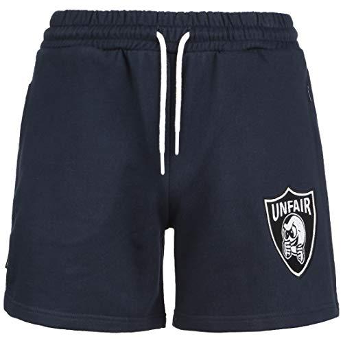 Unfair Athletics Punchingball Emblem Short Herren dunkelblau/weiß, XXL