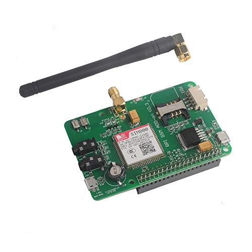 Tarjeta SIM800 Módulo GSM GPRS Expansión UART Quad-Band 850/900/1800/1900 MHz Red 2G para Raspberry Pi WIshiot
