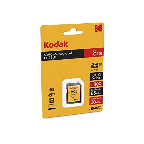 Kodak Premiun SDHC 8GB Class10 U1