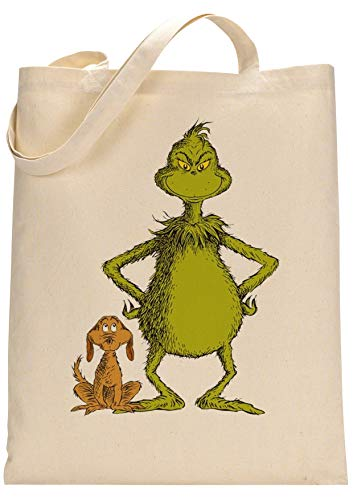Grinch Movie Fan Custom Made Tote Bag