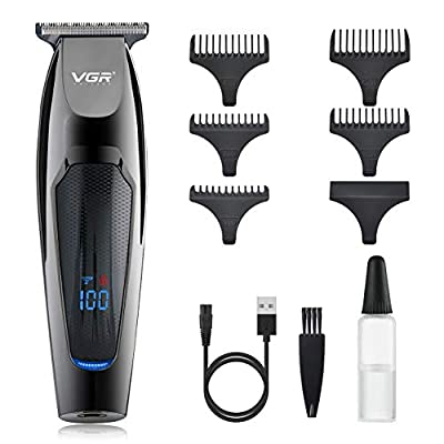 Amazon - Save 65%: VGR Hair Clippers for Men Upgraded Cordless Upgraded Professional H…
