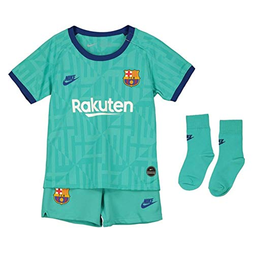 NIKE FCB I Nk BRT Kit 3R Equipación FC Barcelona, Unisex bebé, Cabana/Deep Royal Blue, 6/9