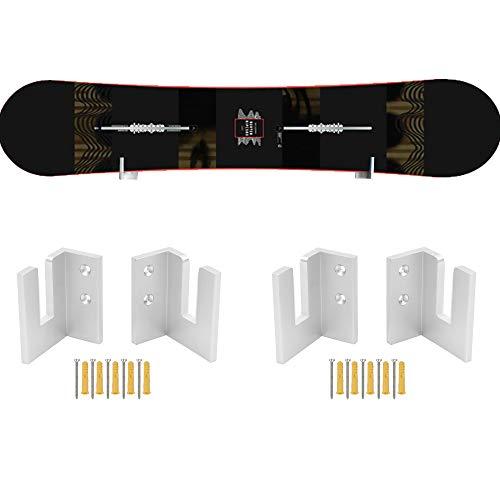 YYST Snowboard Wandhalterung Snowboard Wandhalter - Kein Board - Fit Snowboard, Longboard (2)