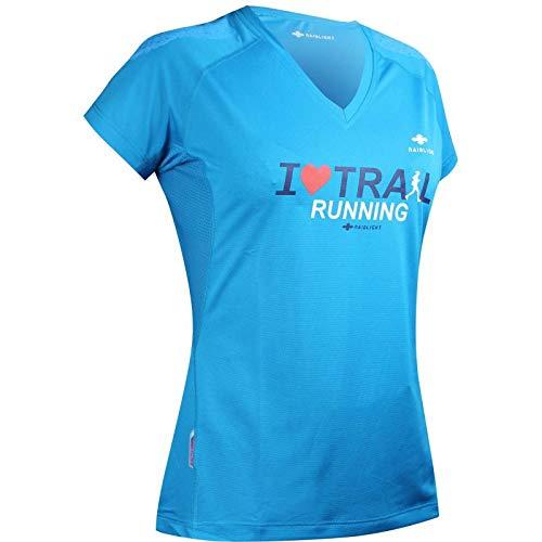 Raidlight Tee-Shirt Femme Manches Courtes Technical Bleu - L