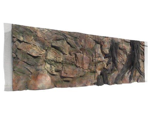 ABG015 Aquarium Rückwand 3D Standard 150x60cm bei Robizoo