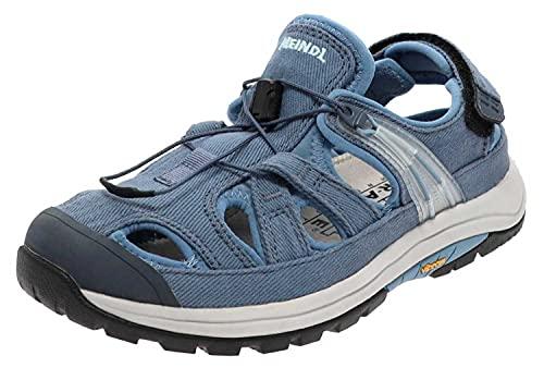 Meindl Damen Sandale Ischia Lady Outdoorsandale Blau 36 EU
