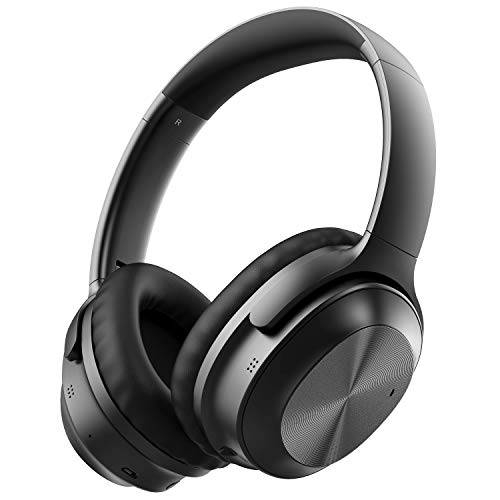 LETSCOM H033C Active Noise Cancelling Bluetooth Headphones