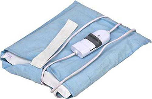 MCP Heat Therapy Orthopaedic Pain Reliever Electric Heating Pad with Belt; Auto Temperature Controller for Joints, Muscle, Back, Leg, Shoulder, Knee, Neck, Multicolour