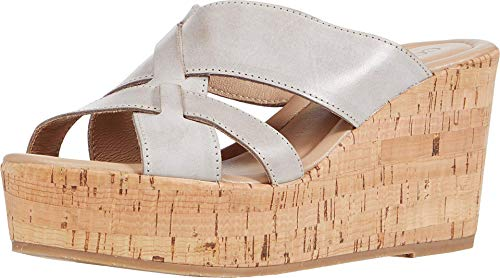 Cordani Janet Taupe Leather 39 (US Women's 8-8.5) M