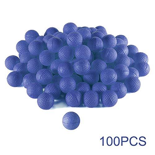 Uyuke 100 Piezas de Recarga de Espuma de munición