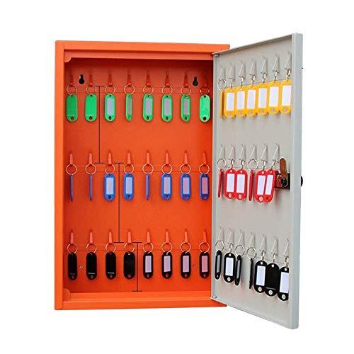 ZHANG HUA-tafellamp Z-H autokast met gereedschapskist voor losse vakken, 48 sleutelkasten aan de muur gemonteerd