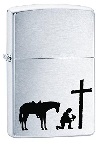 Zippo Cowboy Lighters (Praying Cowboy)